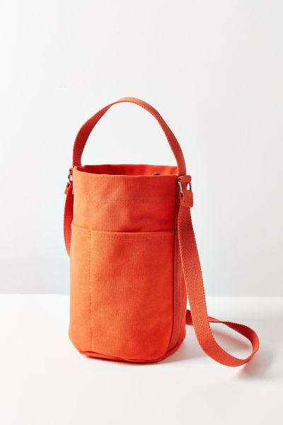 Canvas Bucket Bag - Orange One Size at Urban Outfitters