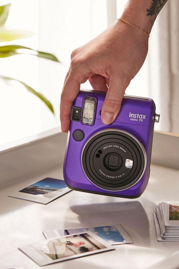 Slide View 1 Fujifilm X UO Instax Mini 70 Instant Camera