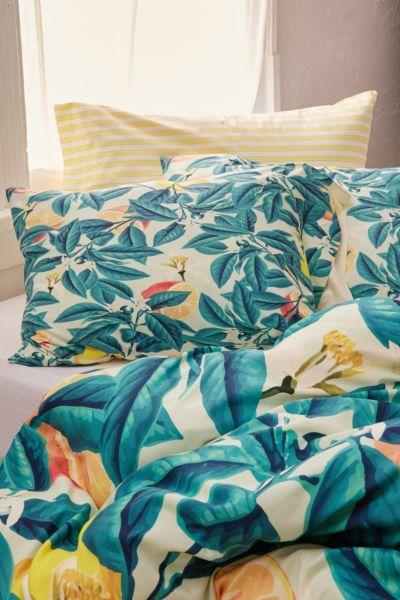 83 Oranges For Deny Lemon Pattern Pillowcase Set