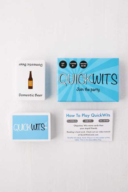 QuickWits Card Game