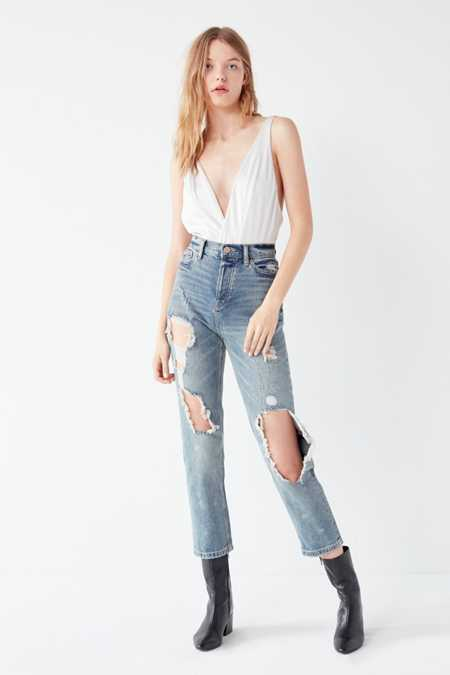 BDG High-Rise Straight + Narrow Jean – Cinder