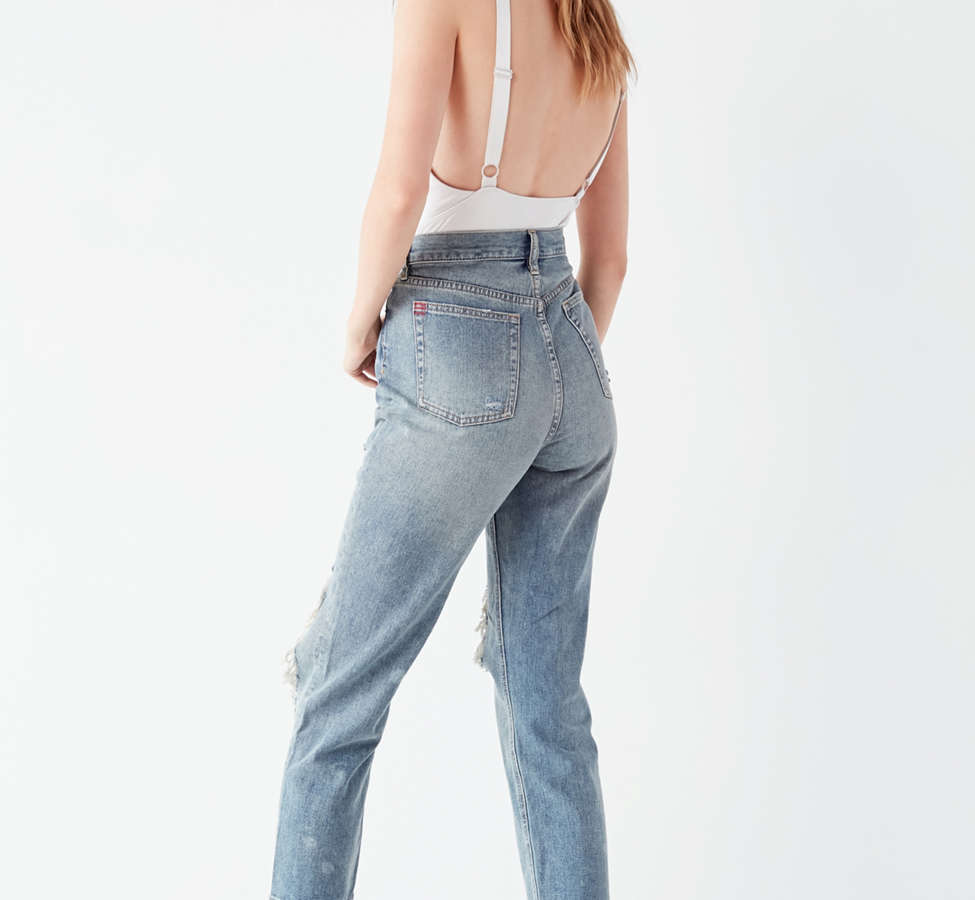 Slide View: 2: BDG High-Rise Straight + Narrow Jean – Cinder