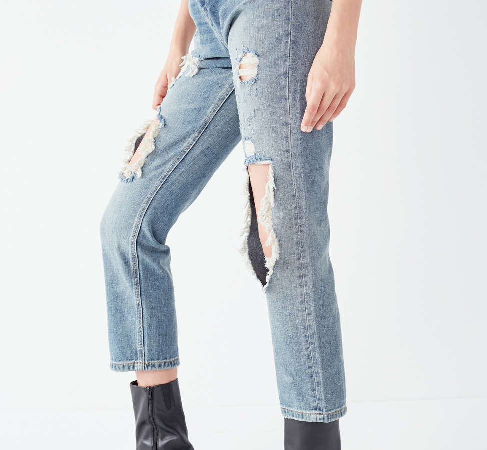 Slide View: 3: BDG High-Rise Straight + Narrow Jean – Cinder