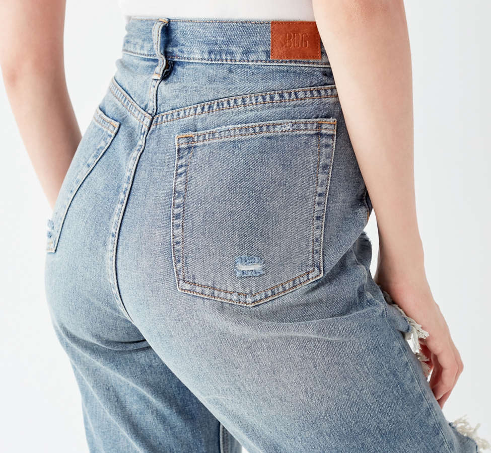 Slide View: 5: BDG High-Rise Straight + Narrow Jean – Cinder