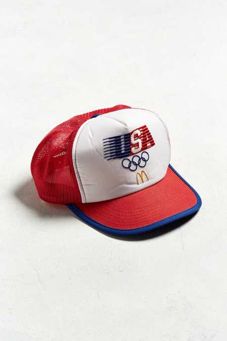 Vintage Olympic Trucker Hat