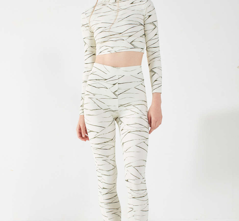 Slide View: 1: Out From Under Ivory Printed Legging