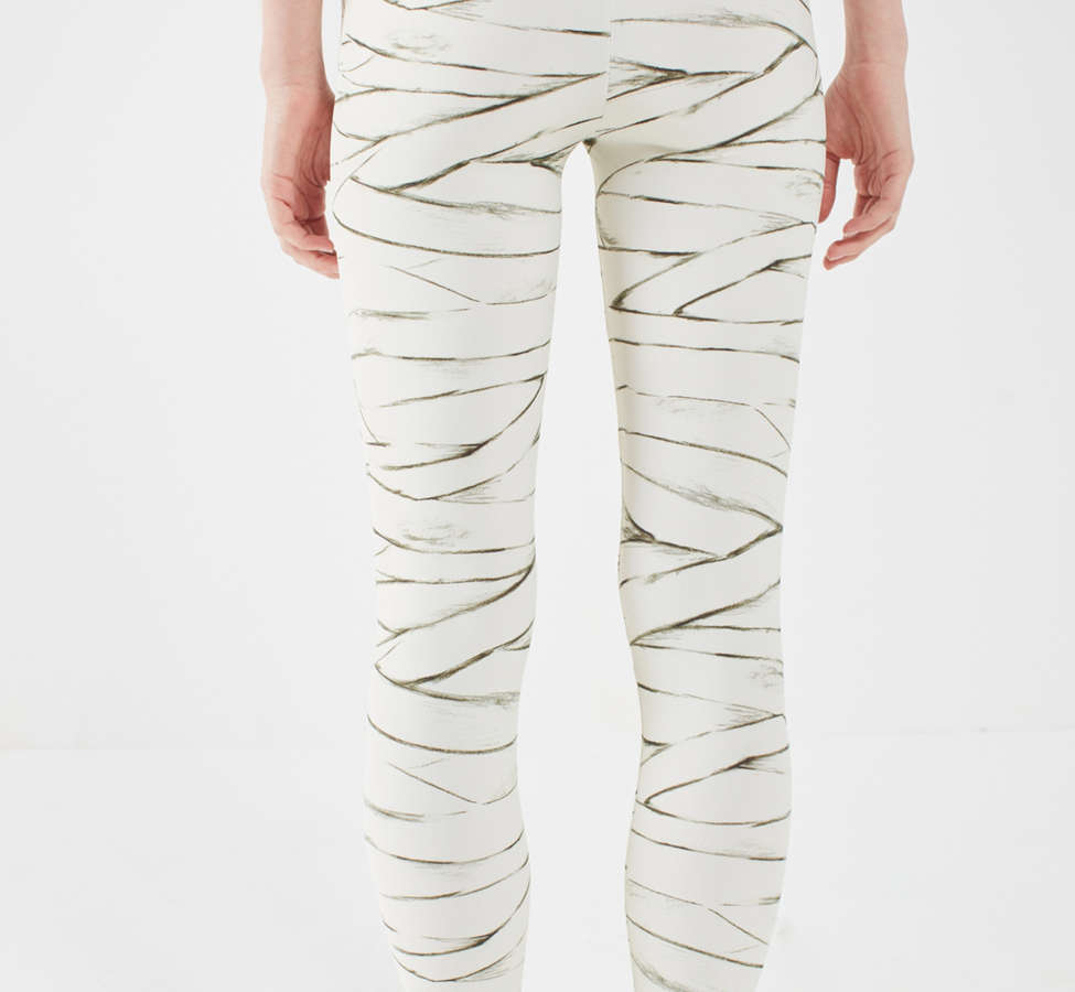 Slide View: 2: Out From Under Ivory Printed Legging