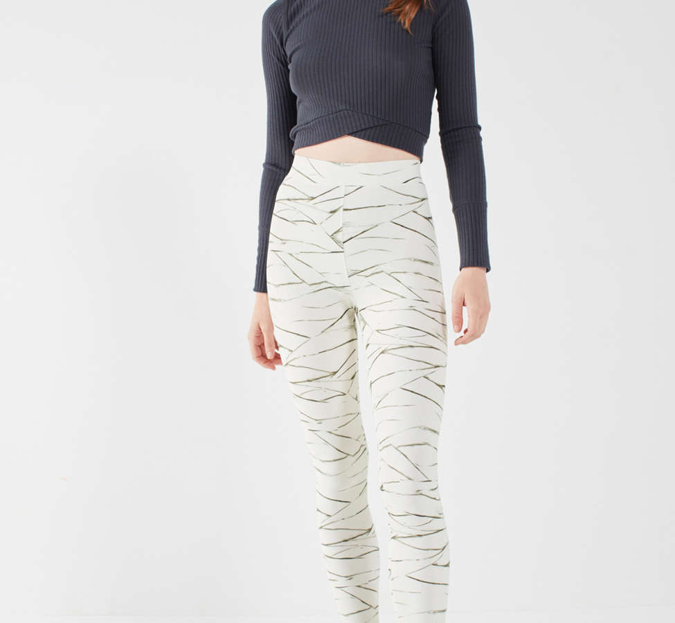 Slide View: 3: Out From Under Ivory Printed Legging