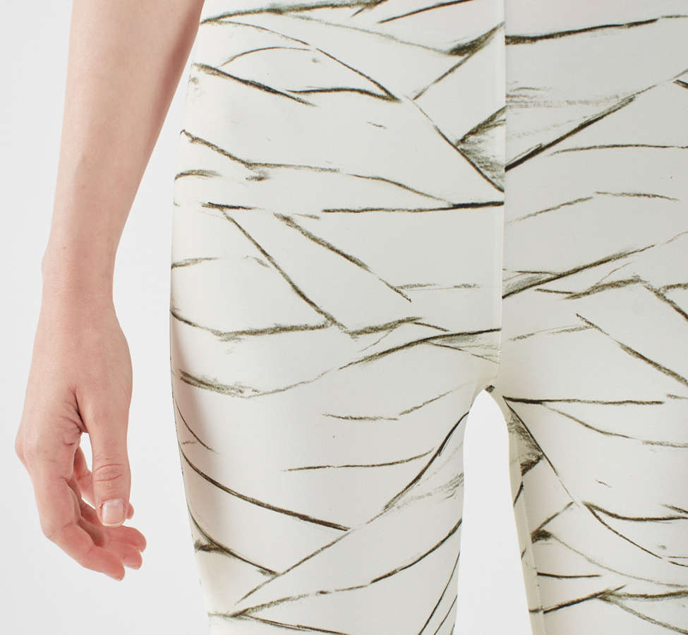 Slide View: 6: Out From Under Ivory Printed Legging