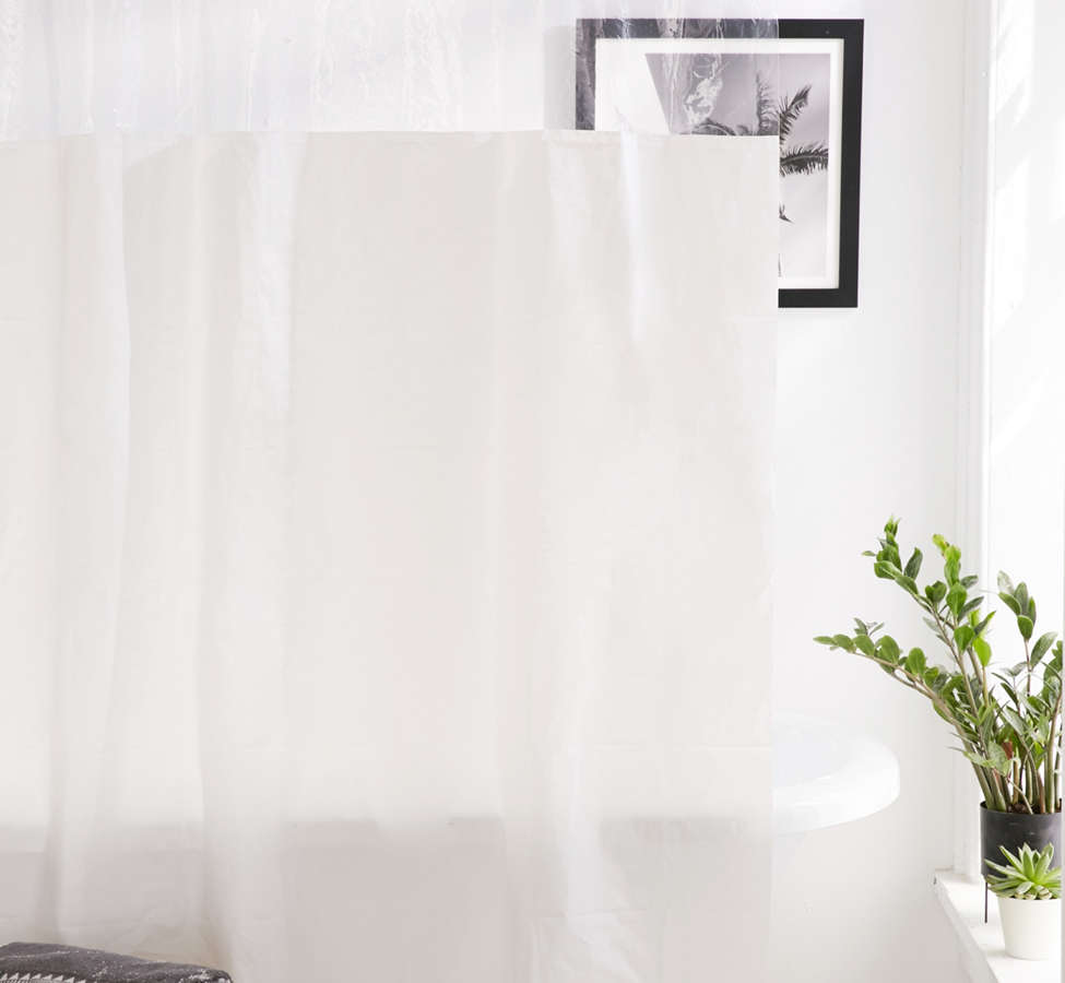 Slide View: 1: Peek-A-Boo Shower Curtain