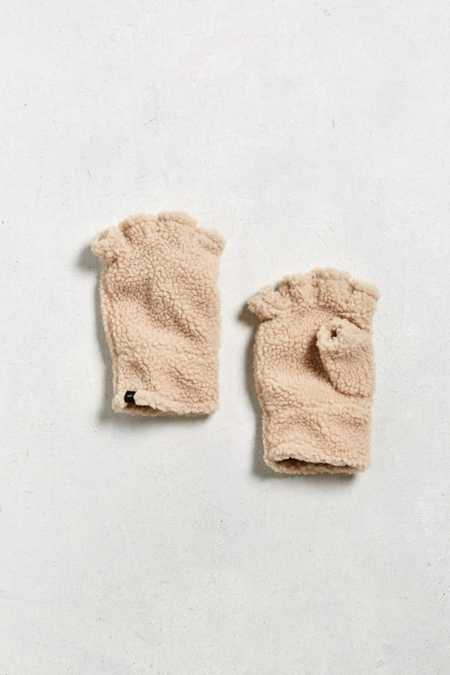 UO Fingerless Sherpa Glove
