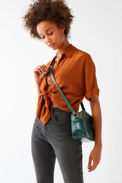 Asher Camera Crossbody Bag - Green One Size at Urban Outfitters