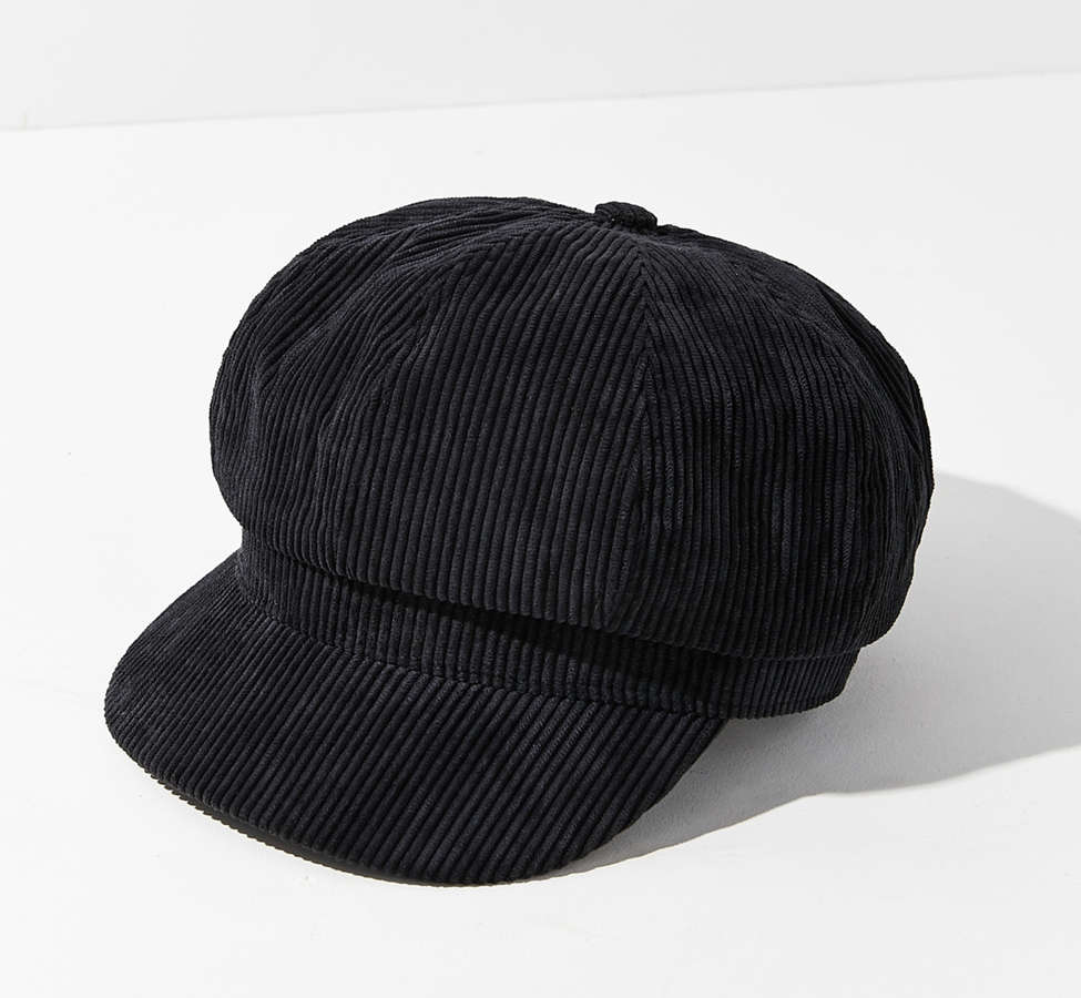 Slide View: 2: Corduroy Cabbie Hat