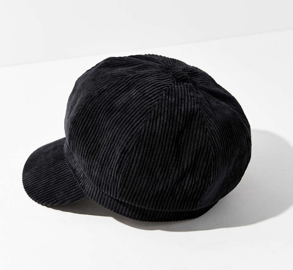 Slide View: 3: Corduroy Cabbie Hat