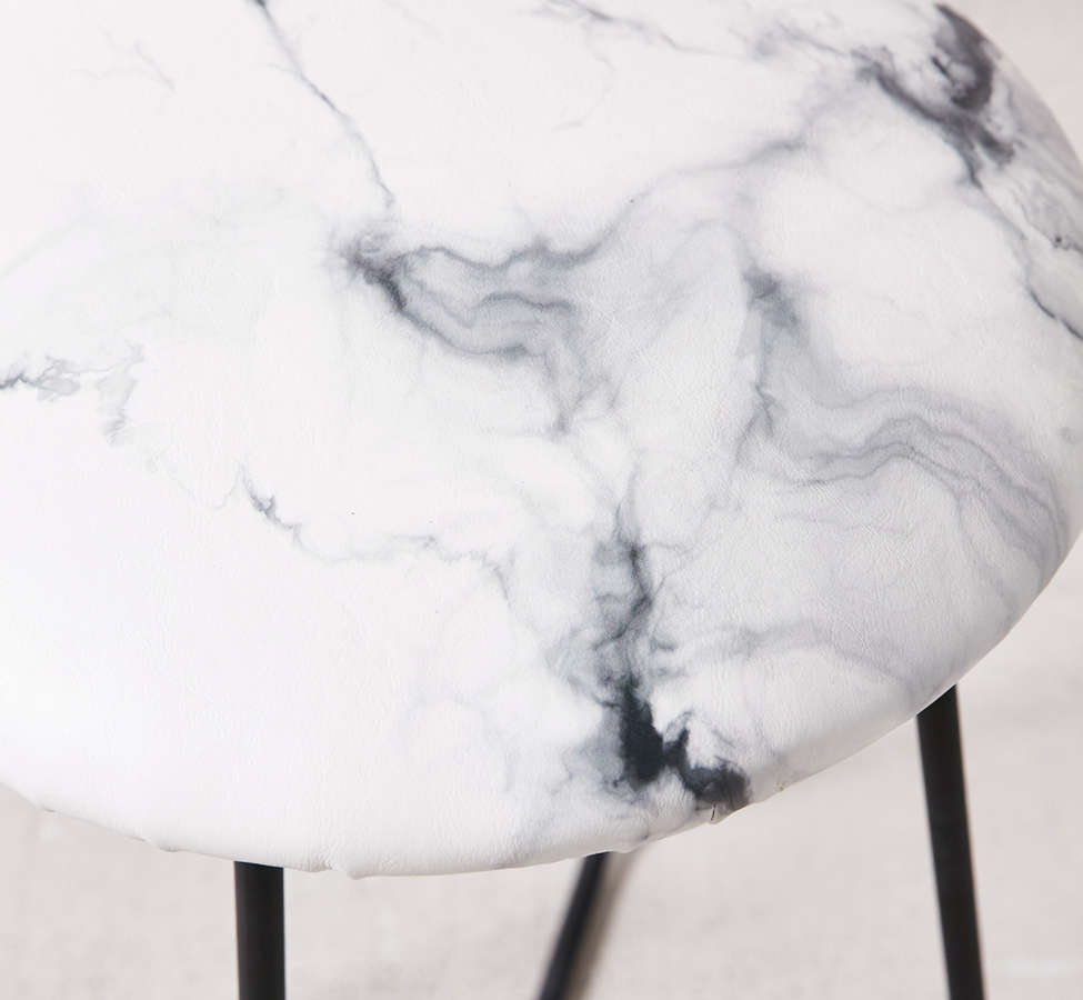 Slide View: 4: Chelsea Victoria For Deny Marble Counter Stool