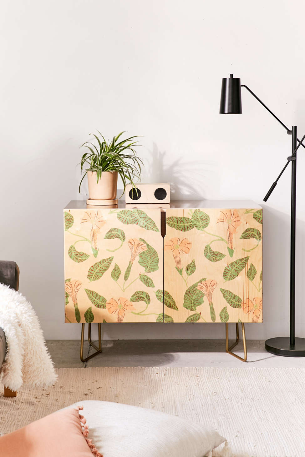 Slide View: 1: Holli Zollinger For Deny Desert Moonflower Credenza