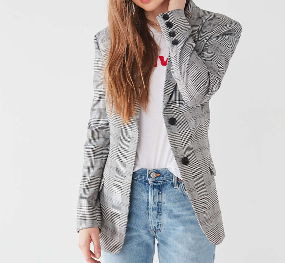 Slide View: 5: Capulet Jones Plaid Blazer