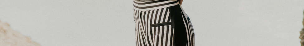 Thumbnail View 1: UO High-Rise Striped Pant