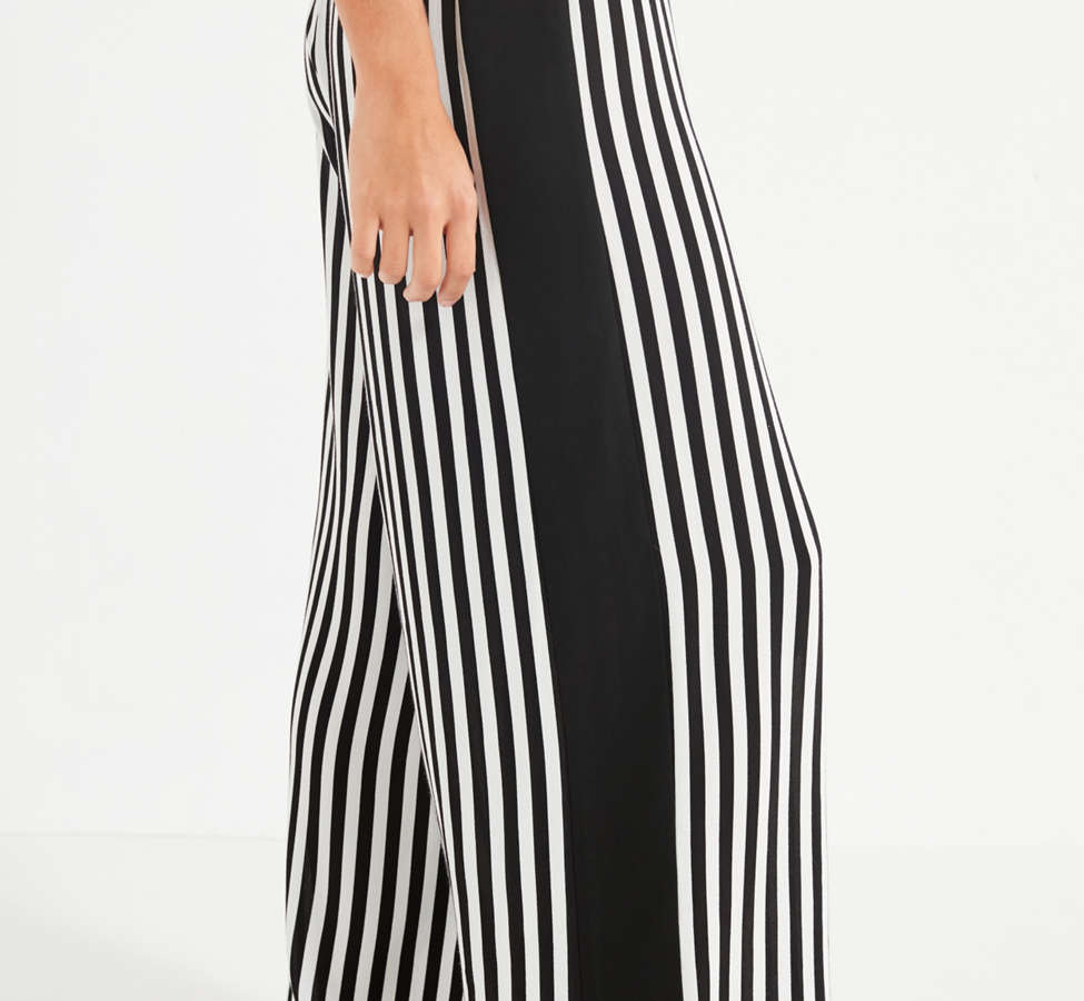 Slide View: 3: UO High-Rise Striped Pant