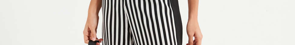 Thumbnail View 4: UO High-Rise Striped Pant
