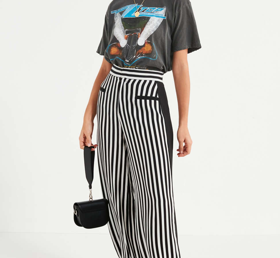 Slide View: 4: UO High-Rise Striped Pant