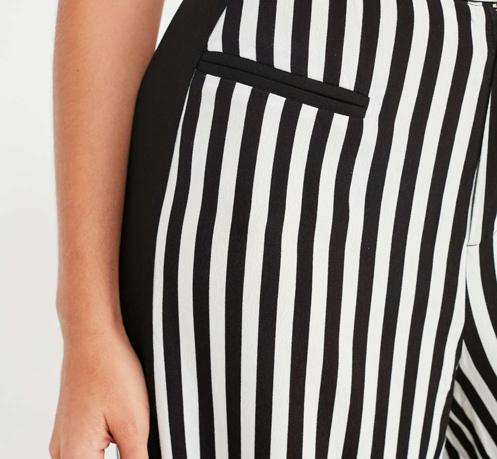 Slide View: 5: UO High-Rise Striped Pant
