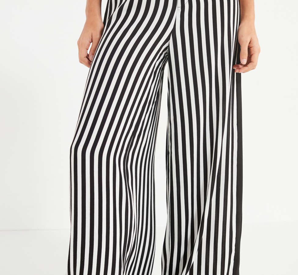 Slide View: 6: UO High-Rise Striped Pant