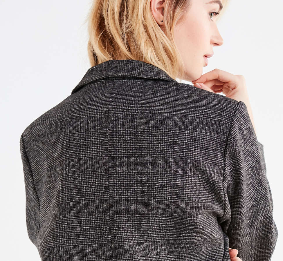 Slide View: 3: UO Double-Breasted Wool Blazer
