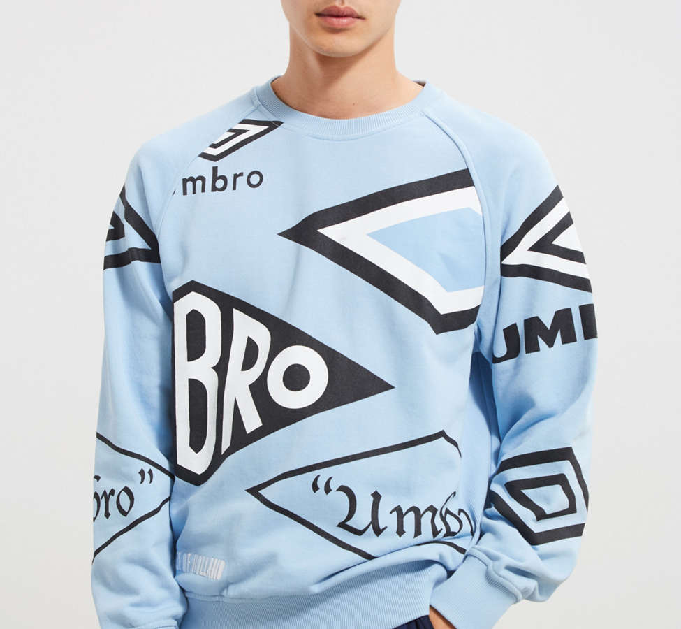 Slide View: 1: Umbro X House Of Holland Logo Crew Neck Sweatshirt
