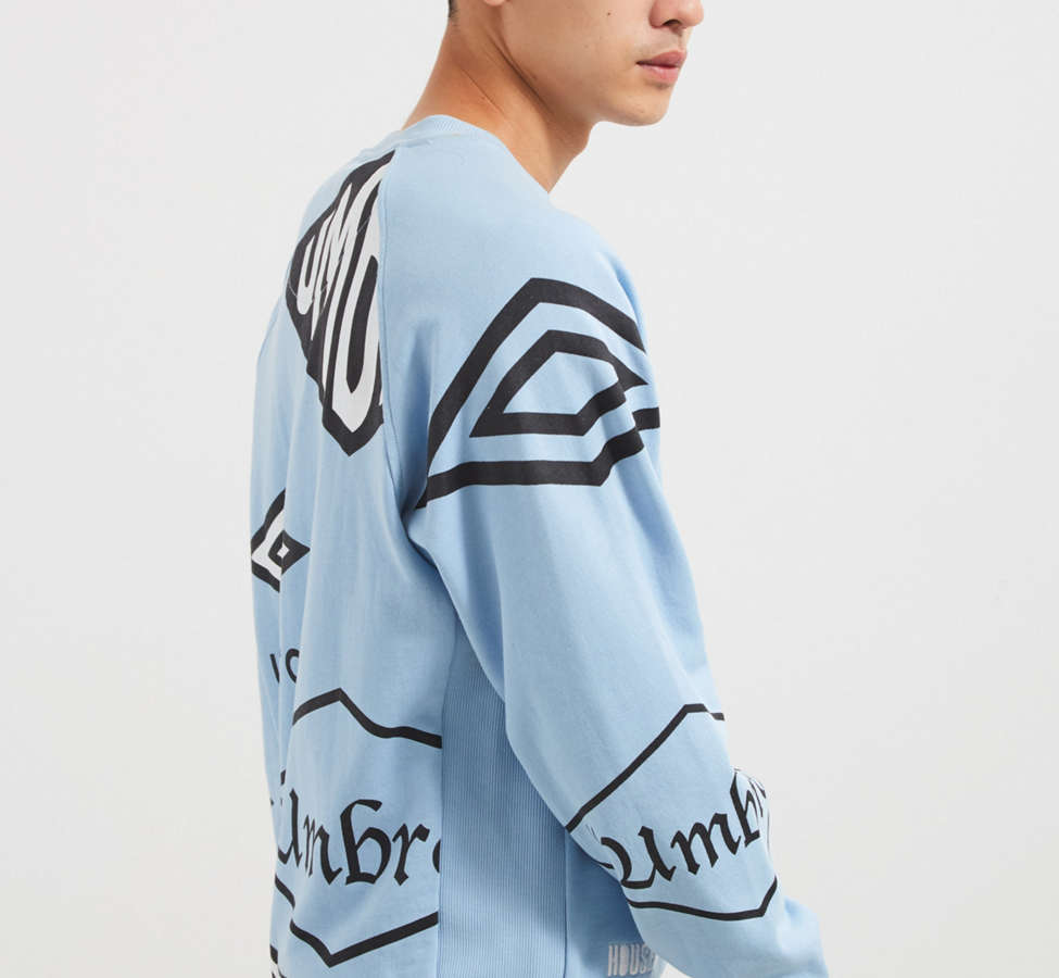 Slide View: 3: Umbro X House Of Holland Logo Crew Neck Sweatshirt