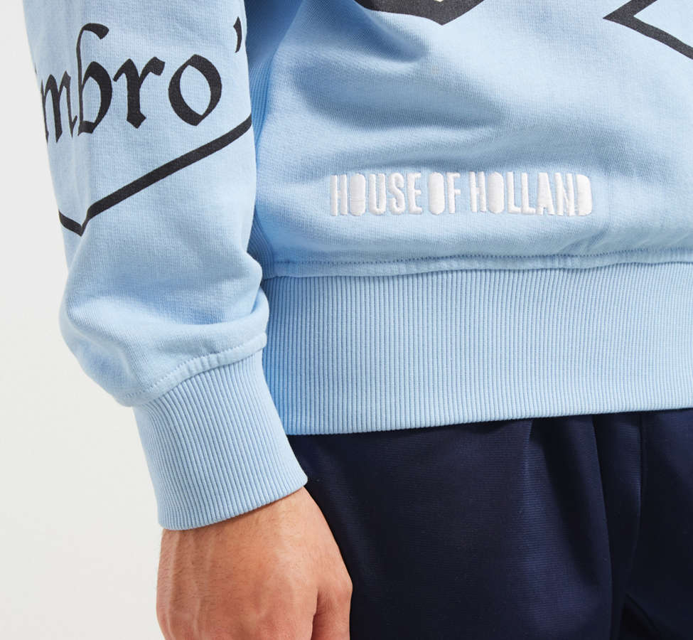 Slide View: 4: Umbro X House Of Holland Logo Crew Neck Sweatshirt
