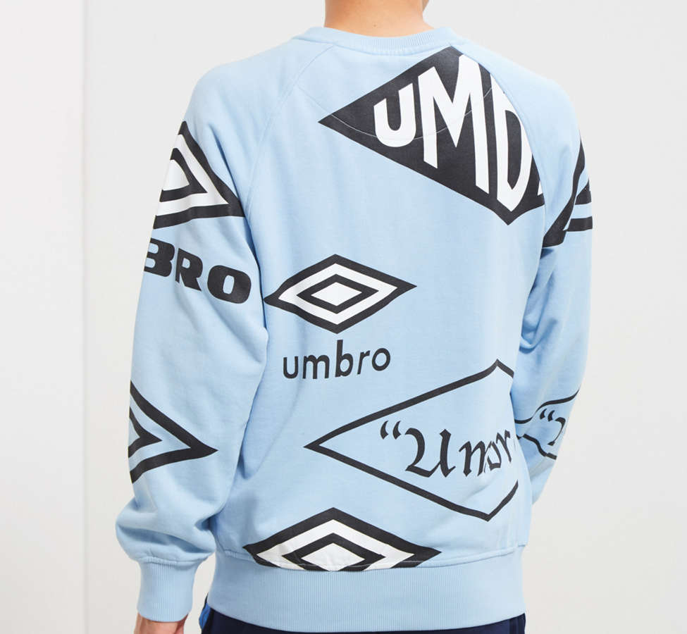 Slide View: 5: Umbro X House Of Holland Logo Crew Neck Sweatshirt