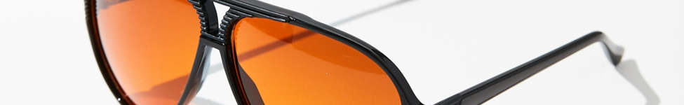Thumbnail View 1: Vintage Caine Aviator Sunglasses