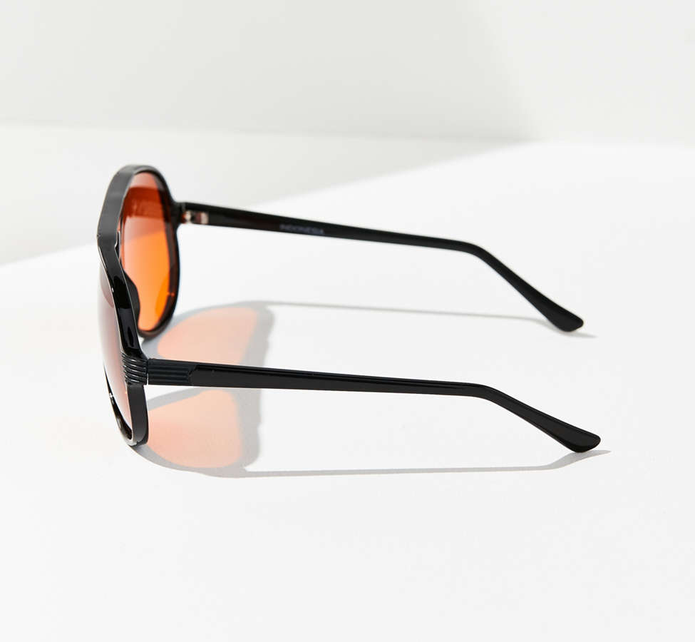 Slide View: 4: Vintage Caine Aviator Sunglasses
