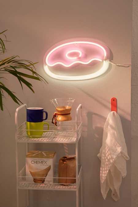 Neon Table Light: Neon Lights, Table Lamps, + Cinema Boxes