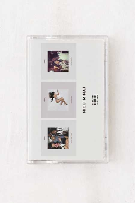 Nicki Minaj - No Frauds, Regret In Your Tears + Changed It Limited Cassette Tape