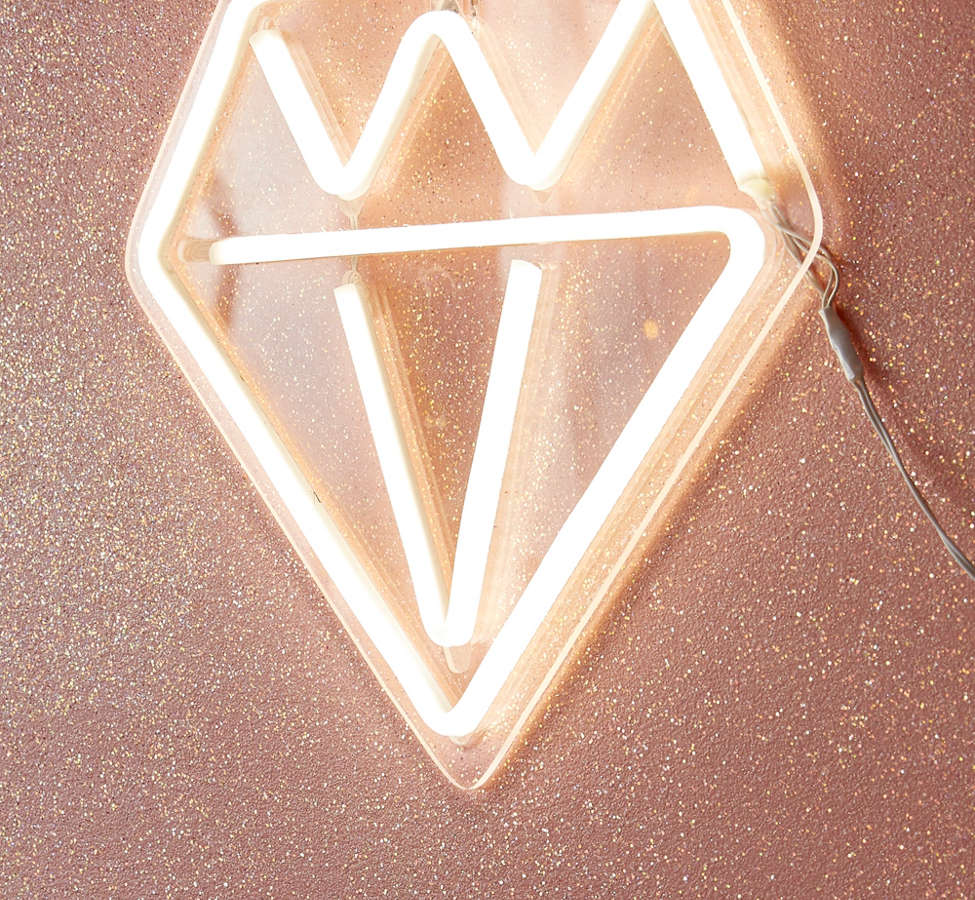 Slide View: 1: Diamond Neon Sign