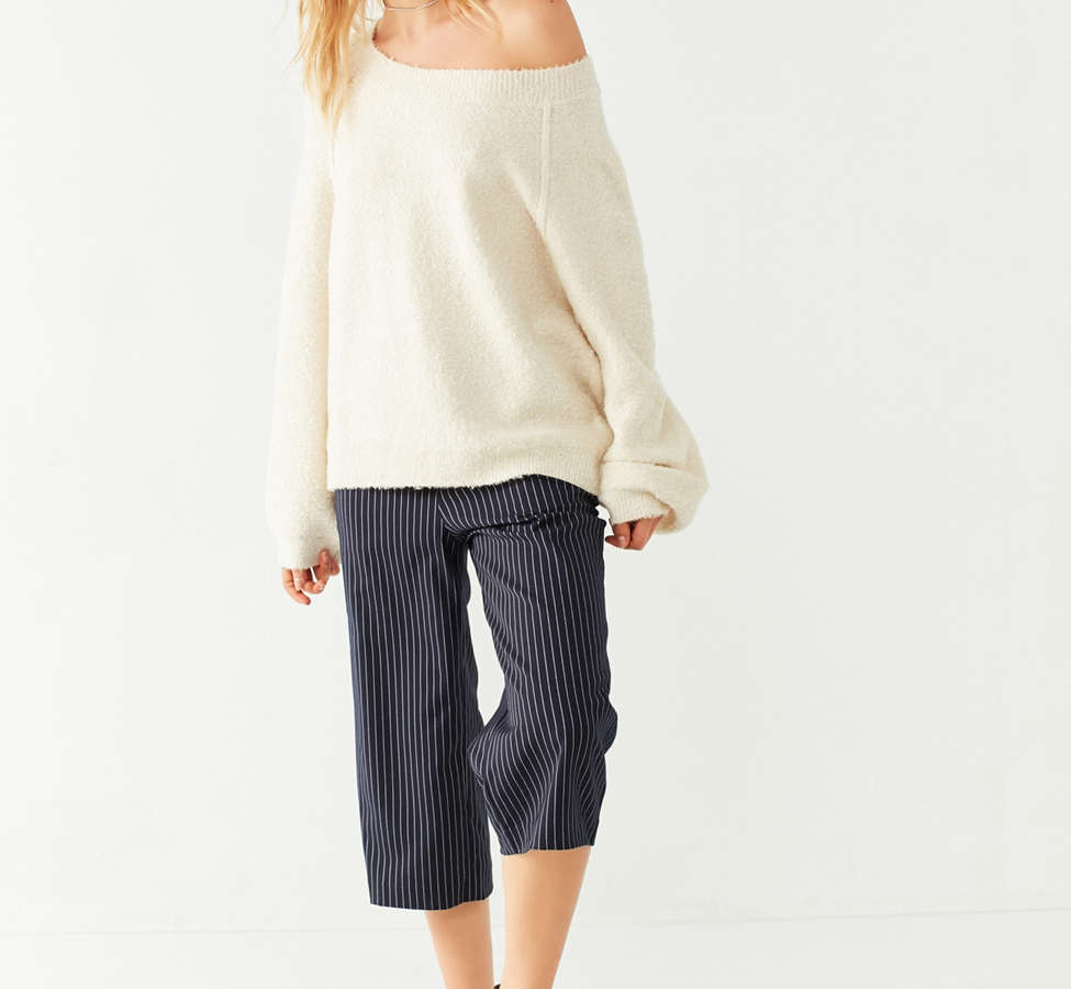 Slide View: 3: UO Cozy Off-The-Shoulder Sweater