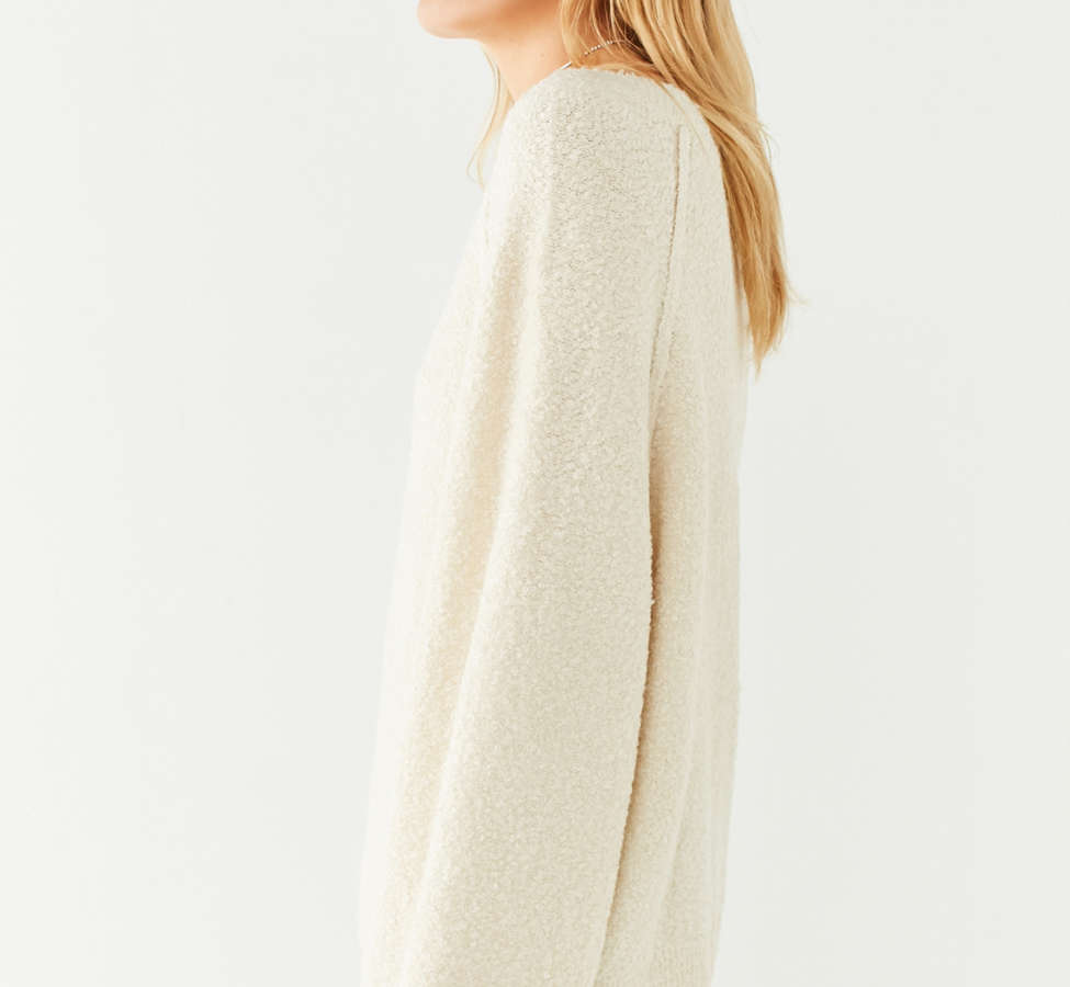 Slide View: 4: UO Cozy Off-The-Shoulder Sweater