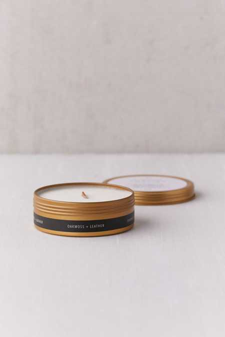 Simply Curated Wooden Wick Candle