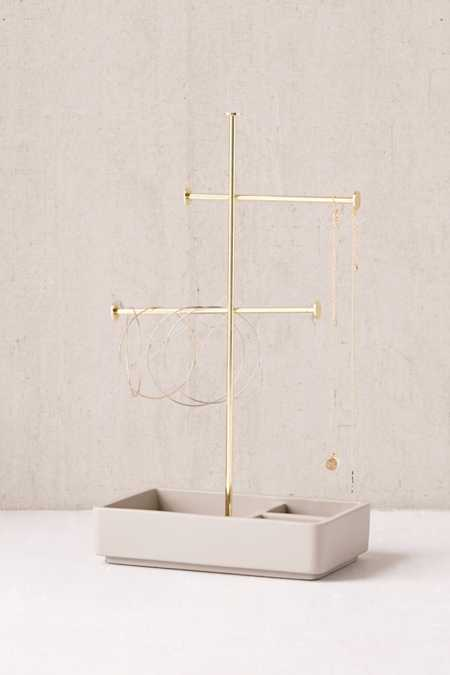 Louise Tiered Concrete Jewelry Stand