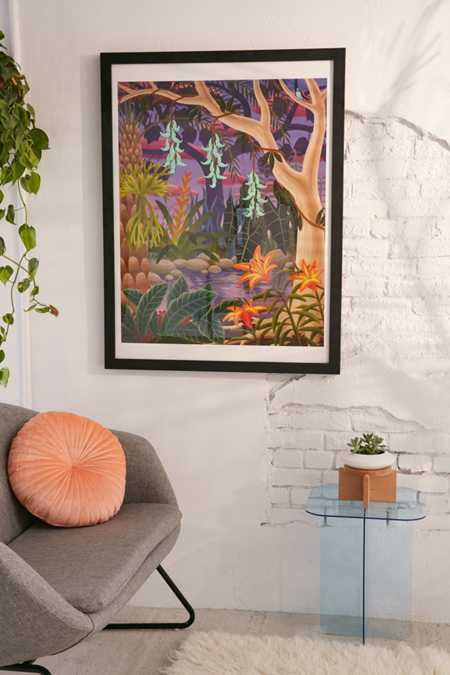 Amy Lincoln Jungle With Jade Vine Art Print