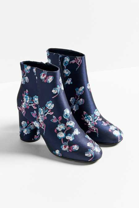 Juliet Floral Ankle Boot