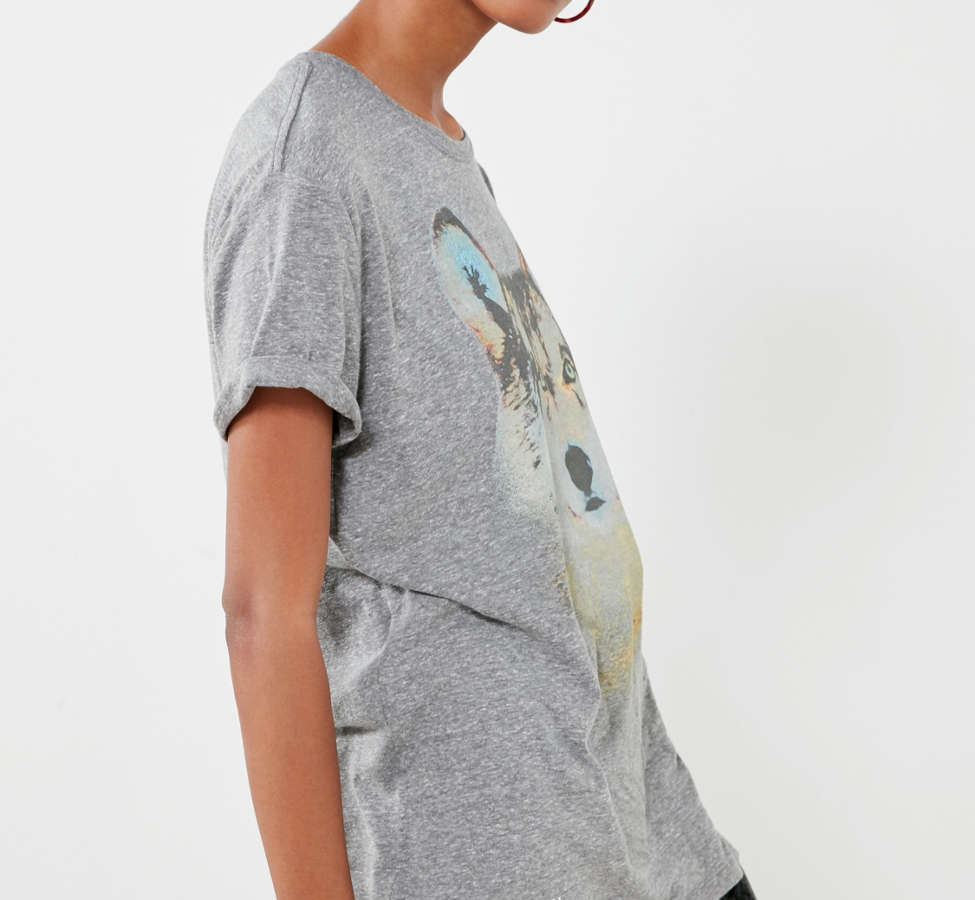 Slide View: 5: National Geographic Wolf Tee