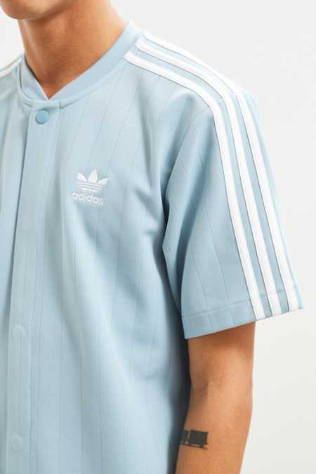 adidas Knit Snap Front Shirt