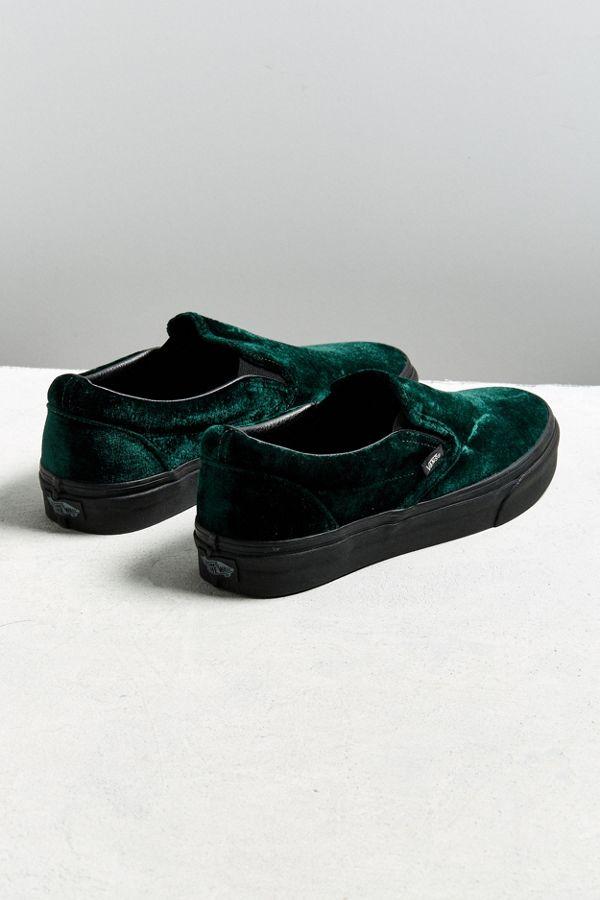 vans green black