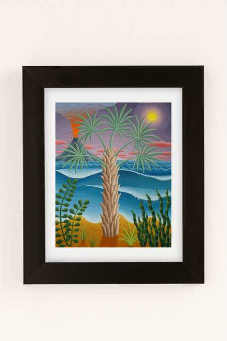 Amy Lincoln Bismarck Palm Art Print