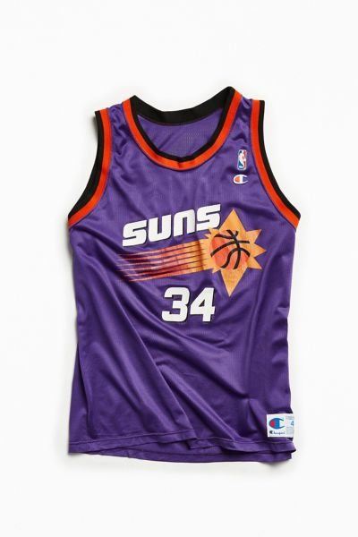 Vintage Phoenix Suns Charles Barkley Purple Basketball Jersey