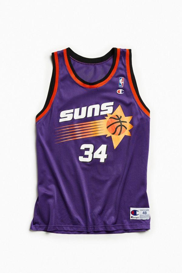 2b35ee90968 ... clearance vintage phoenix suns charles barkley basketball jersey b65d4  ba4be
