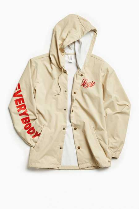 Logic Everybody Hooded Coach Jacket
